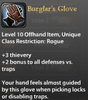 Burglar's Glove