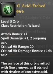 1 Acid-Etched Orb