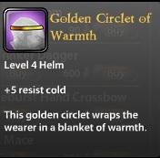 Golden Circlet of Warmth