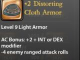 +2 Distorting Cloth Armor