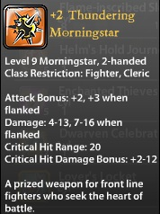 2 Thundering Morningstar