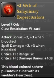 2 Orb of Sanguinary Repercussions