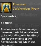 Dwarven Celebration Brew