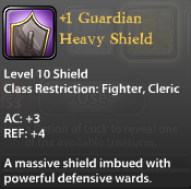 1 Guardian Heavy Shield