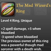 The Mad Wizards Ring