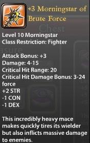 3 Morningstar of Brute Force