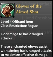 Gloves of the Aimed Shot