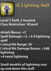 2 Lightning Staff