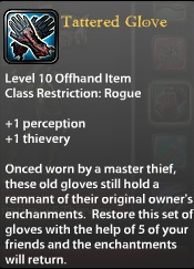 Tattered Glove