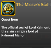 The Master's Seal
