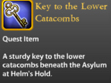 Key to the Lower Catacombs