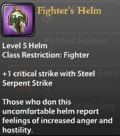 Fighter's Helm