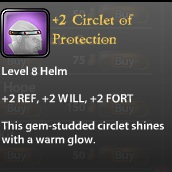 2 Circlet of Protection