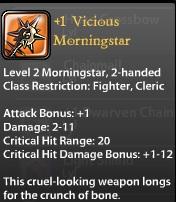 1 Vicious Morningstar