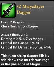 2 Mageslayer Dagger