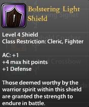 Bolstering Light Shield