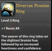Dwarven Promise Ring