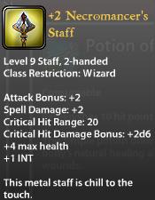 2 Necromancer's Staff