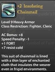 2 Insulating Chainmail