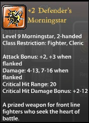 2 Defender's Morningstar