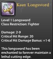 Keen Longsword