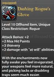 Dashing Rogue's Glove