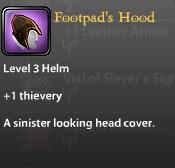 Footpad's Hood
