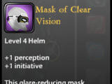 Mask of Clear Vision