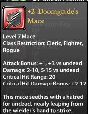 2 Doomguide's Mace