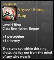 Abyssal Stone Ring