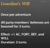 Guardian's Will