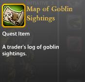 Map of Goblin Sightings