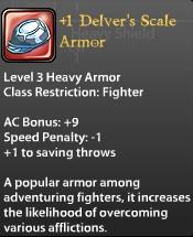 1 Delver's Scale Armor