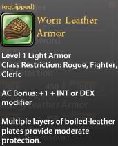 Worn Leather Armor