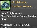 +1 Delver's Leather Armor