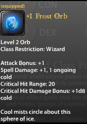 1 Frost Orb