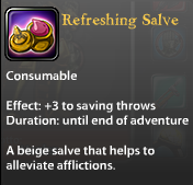 Refreshing Salve