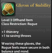 Gloves of Stability