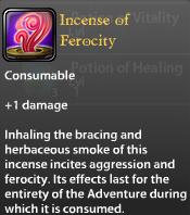 Incense of Ferocity