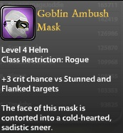Goblin Ambush Mask