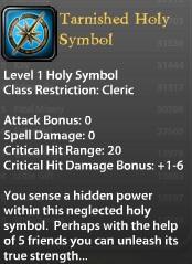 Tarnished Holy Symbol