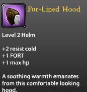 Fur-Lined Hood