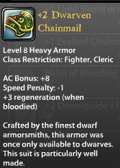 2 Dwarven Chainmail