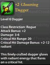 2 Gleaming Dagger
