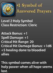 1 Symbol of Answered Prayers