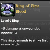 Ring of First Blood