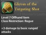Gloves of the Targeting Shot