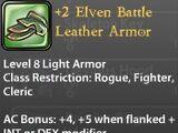 +2 Elven Battle Leather Armor