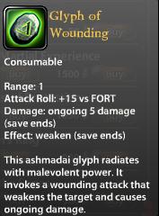 Glyph of Wounding