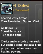 1 Exalted Chainmail